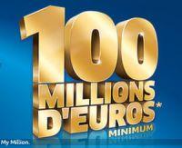 100 millions d'euros à l'Euro Millions du vendredi 6 novembre