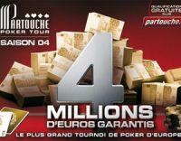 Partouche Poker Tour 4 : la finale en septembre à Cannes