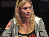 Gaëlle Baumann fait honneur au poker français
