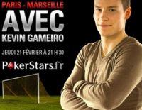 Gameiro et Valbuena : le PSG contre l'OM chez PokerStars