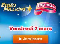 Un jackpot exceptionnel de l'Euro Millions ce vendredi 7 mars 2014