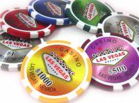 Les différents types de jetons (ou « chips ») au poker