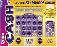 500 000 euros au jeu de grattage cash