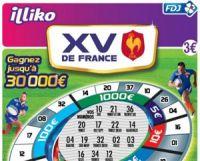 Un jeu de grattage sur le rugby à l'occasion du tournoi des VI nations