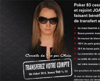 JOA Poker récupère les joueurs de Poker83