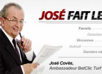 Betclic Turf recrute José Covès et passe son bonus de 30 à 50 €