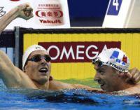 Lacourt et Stravius médaillés d'or de natation : PMU en profite