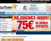 LeTurf : croissance supérieure au marché des paris hippiques en ligne