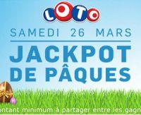 26 mars : Jackpot LOTO de Pâques