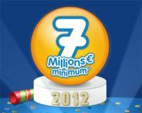 LOTO® : le jackpot du nouvel an 2012 est de 7 millions d'euros
