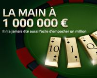 PMU Poker : la main à 1 million d'euros de retour jusqu'au 31 octobre
