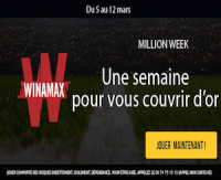 Participez à la Million Week de Winamax