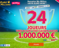Semaine My Million Euro 2016 sur FDJ.fr
