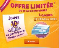 Une offre limitée de FDJ.fr jusqu'au 23 novembre