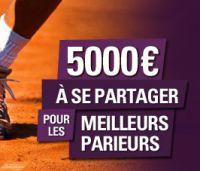 L'Open SAjOO : 5.000 € à vous partager en pronostiquant