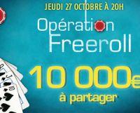 PMU Poker : une Opération Freeroll à 10.000 € ce soir à 20h