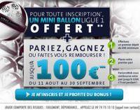 Comment recevoir le mini-ballon Ligue 1 grâce à ParionsWeb ?
