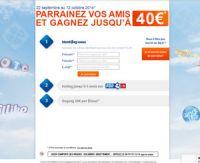 Le parrainage vous rapporte 40 euros chez FDJ.fr