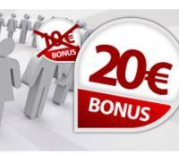 Betclic : le parrainage vous rapporte 20 € en avril