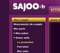 SAjOO Poker : le parrainage de vos amis vous rapporte de l'argent