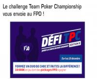 Découvrez le challenge TPC du PMU Poker
