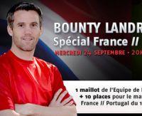 Un bounty avec Mickaël Landreau sur PMU Poker