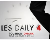 PMU Poker : Omaha Daily Four, de 5 à 20 euros de buy-in