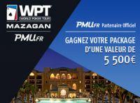 PMU Poker, sponsor du WPT National Annecy et Maroc à Mazagan