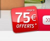 PMU vous offre 75 euros jusqu'au 14 juin