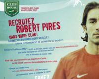 PMU : gagnez un entrainement musclé avec Robert Pirès