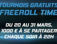 PMU Poker : Freeroll Time pour gagner sans dépenser