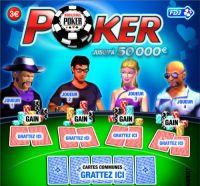 La FDJ innove avec le « poker à gratter »