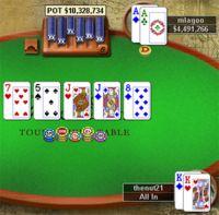Et le plus gros gain de l'histoire du poker sur internet est pour…