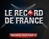 PokerStars veut battre son Record de France le 28 décembre