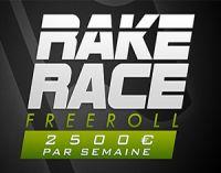 """La """"Rake Race"""" de PokerXtrem : 10.000 € à gagner du 5 au 18 septembre"""