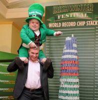 Jetons de poker : la plus grande pile dans le Guinness des records