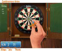Les règles pour jouer aux fléchettes en ligne