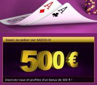SAjOO Poker : gagnez un package de 3 700 € pour le Deepstack Mazagan