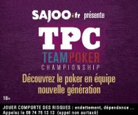 SAjOO innove avec la Team Poker Championship