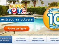 Super LOTO du vendredi 12 octobre : un 29ème millionnaire pour 2012 ?