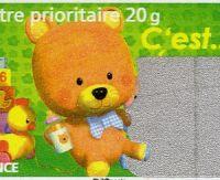 Un timbre à gratter chez La Poste
