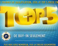 Le TOP 5+ sur PMU Poker, c'est quoi ?