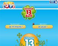 Vendredi 13 avril 2012 : un Super LOTO à 13 millions d'euros