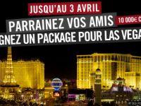 Partez à Las Vegas grâce à Winamax et vos filleuls