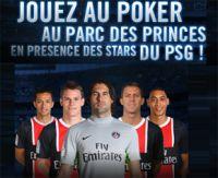 """Winamax : participez au PSG Poker Live avec le code """"PSGPOKERLIVE"""""""