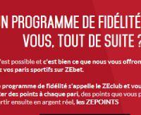Paris sportifs sur ZEbet : les avantages de votre fidélité