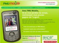 Turfer sur son téléphone portable : PMU Mobile