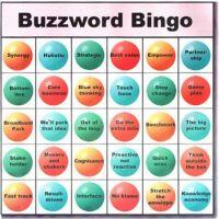 Le Buzzword Bingo (Business Loto)