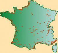 Les établissements Partouche, Barrière et JOA Groupe en France