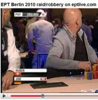Le braquage au tournoi de poker de l'EPT de Berlin en vidéo